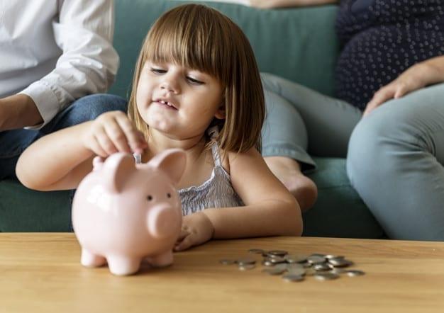 finanças pessoais para os filhos