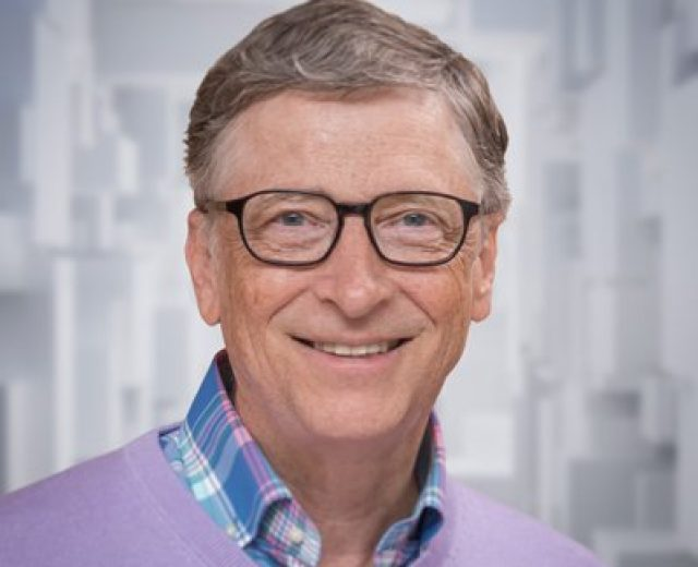 Bill Gates provou ser uma espécie rara: bilionário e inteligente!