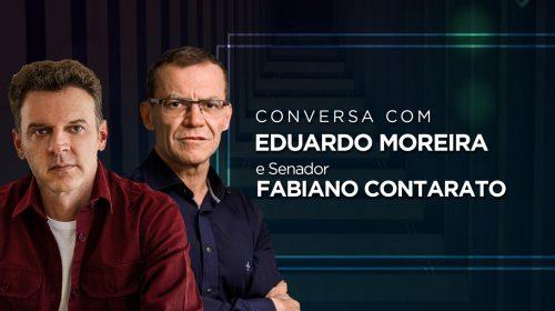 VÍDEO – Live de Eduardo Moreira com Senador Fabiano Contarato