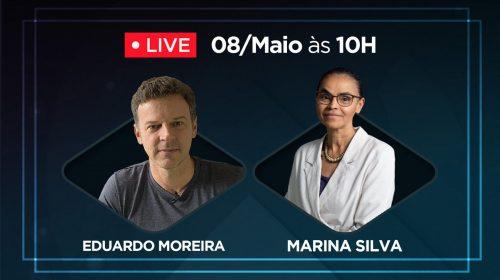 VÍDEO – Marina Silva e Eduardo Moreira sobre crise, economia e política