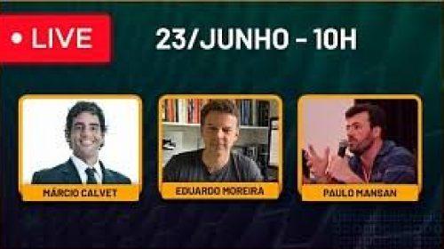 Vídeo – Live com Marcio Calvet e Paulo Mansan