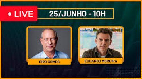 VÍDEO – Live com Ciro Gomes – Como será o fim de Bolsonaro?