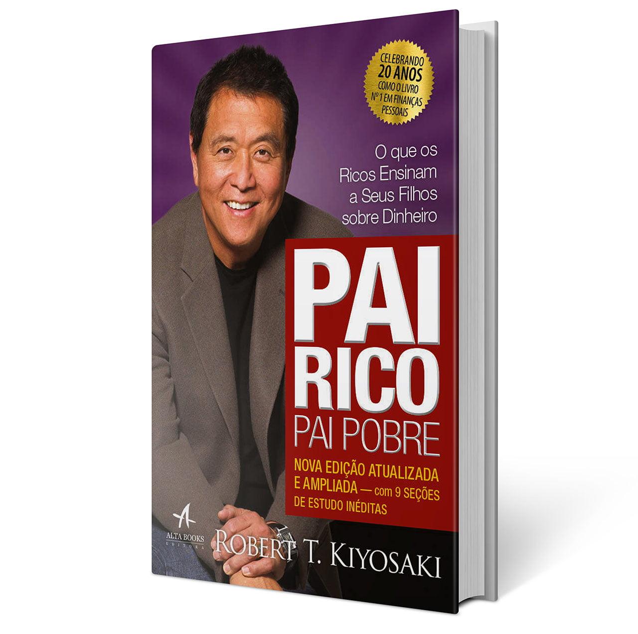 Livro: Pai Rico Pai Pobre - Robert T Kiyosaki
