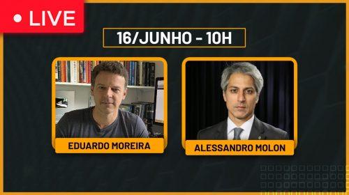 VÍDEO – Justiça determina 21 mandatos de busca e apreensão – Alessandro Molon