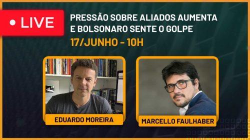 VÍDEO – Pressão sobre aliados aumenta e Bolsonaro sente o golpe