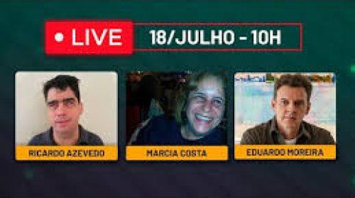 VÍDEO – Ricardo Azevedo, Marcia Costa e Eduardo Moreira
