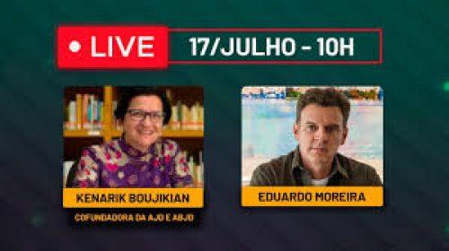 VÍDEO – Live com Kenarik Boujikian